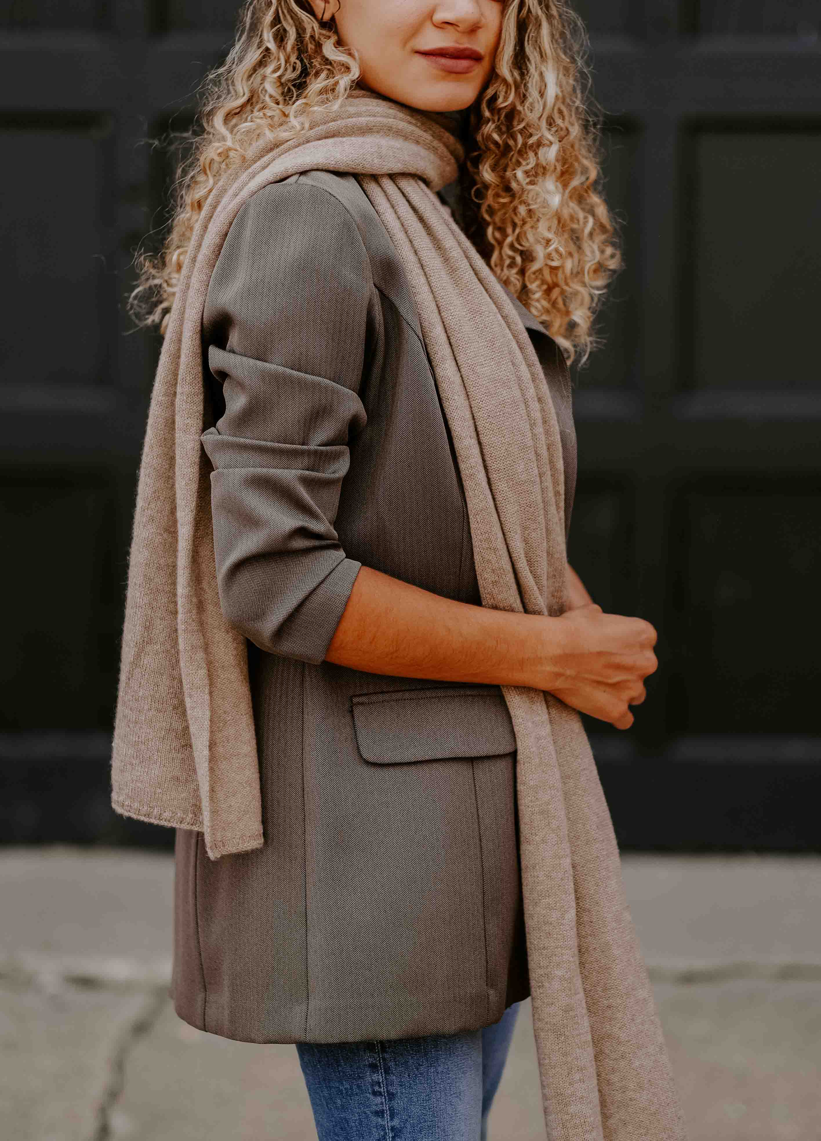 cashmere scarf outfit
