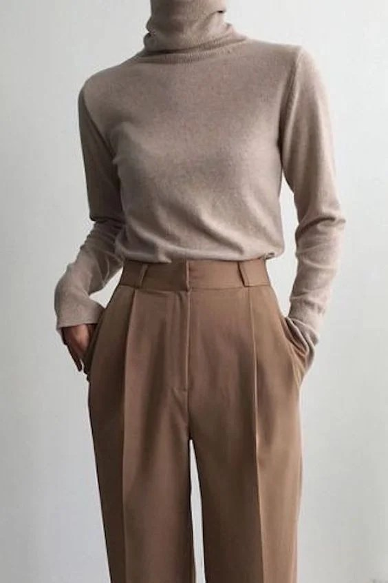 tailored neutral pieces