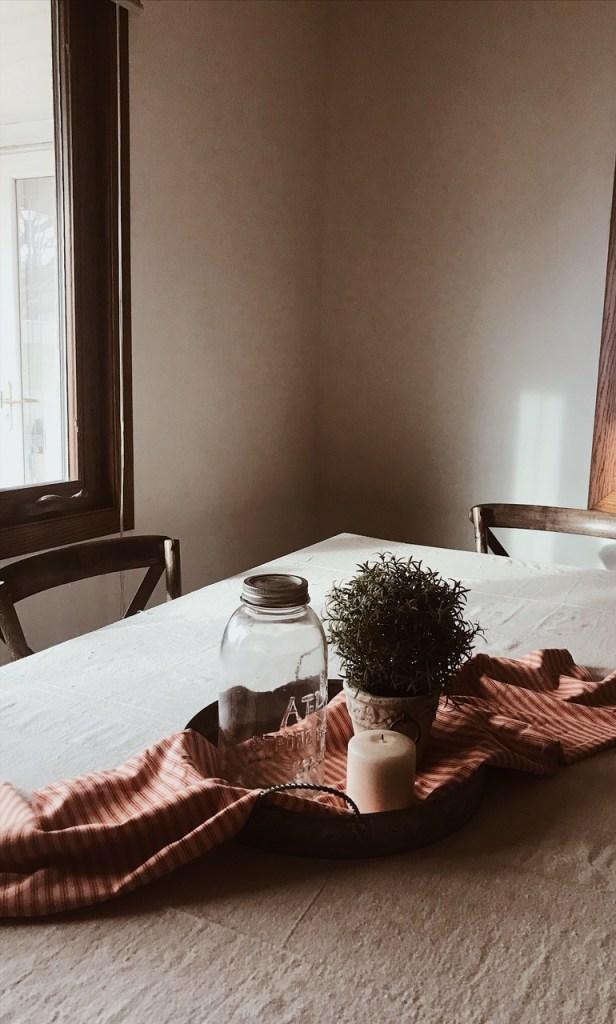 home decor table setting