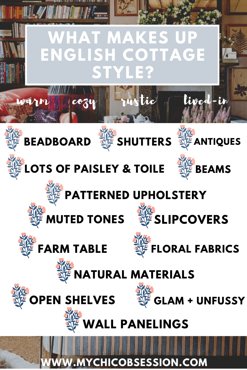 what is english cottage style