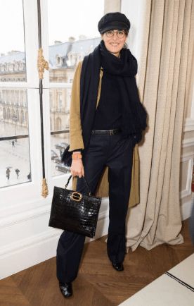 boots outfit french women over 50