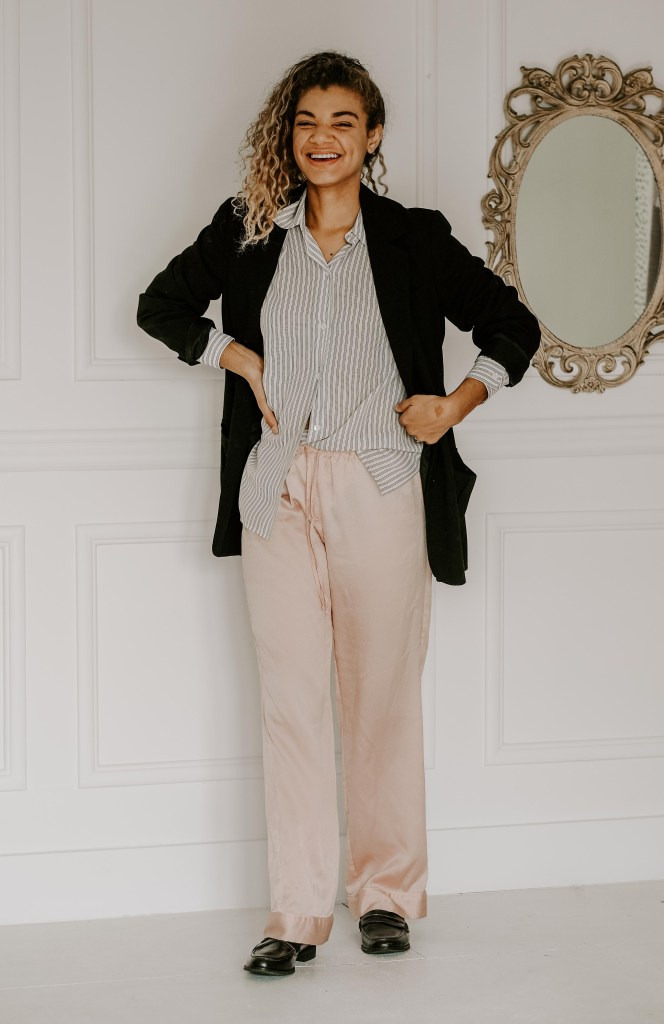silk pajama pants outfit styling tips and tricks