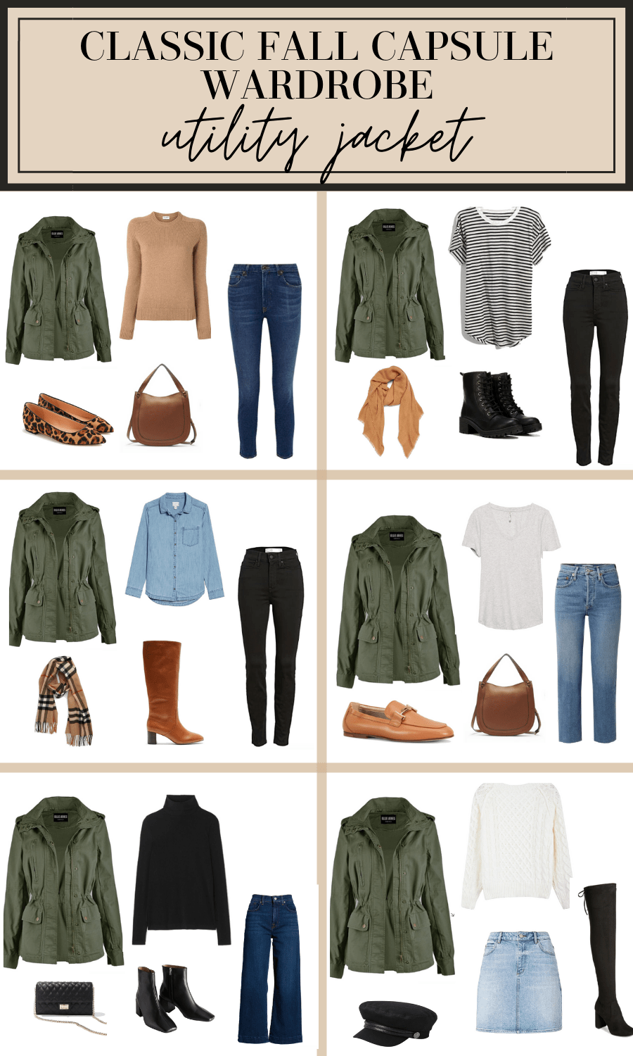 how to wear a utility jacket