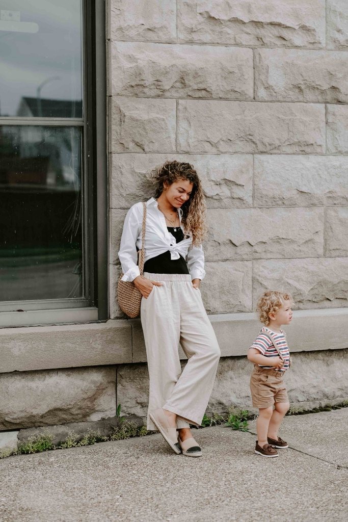 mother and son outfits