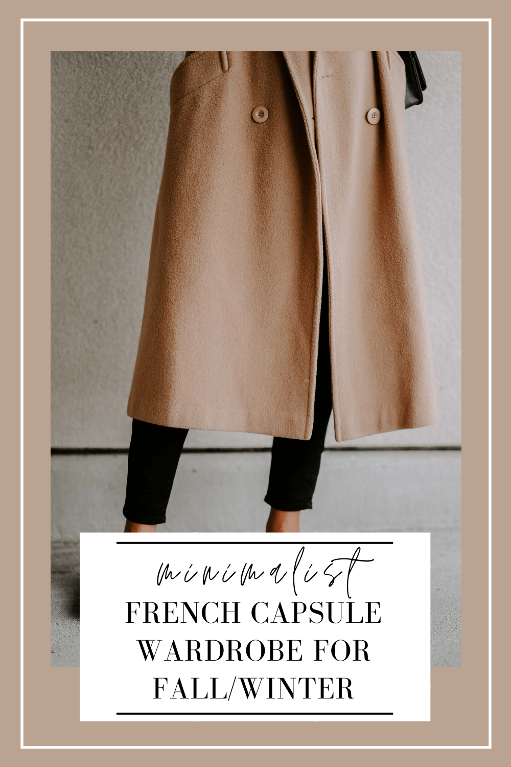 french capsule wardrobe fall:winter