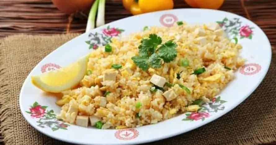 Stir Fried Tofu With Rice Recipe