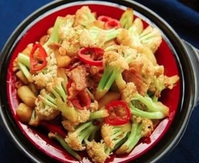 Stir fry Cauliflower Recipe