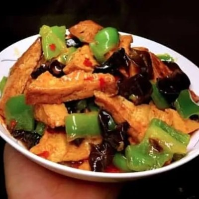 home style Fried Bean Curd
