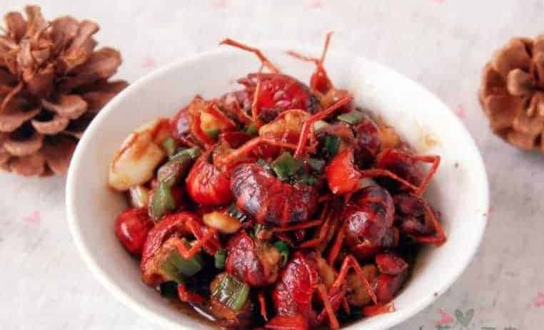 BraisedCrayfish with Broad Bean Paste Recipe