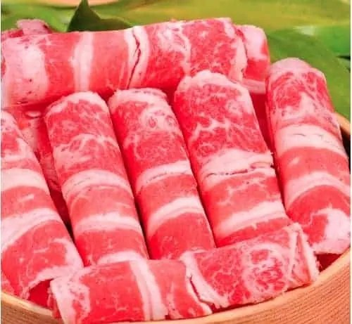 beef slices