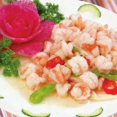 3 Steps Water Chestnuts Flavor Shrimp Recipe