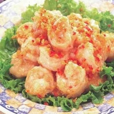4 Step Crispy Garlic Shrimp Recipe