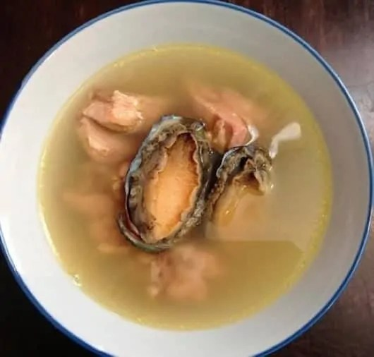 Stewed Abalone With Chicken Soup Recipe 1