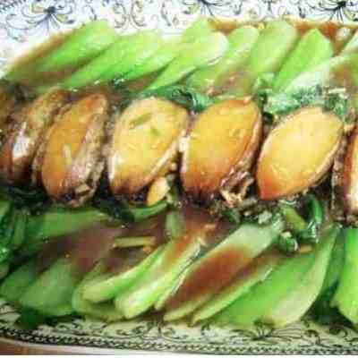 Stir fried Abalone in Oyster Sauce Recipe
