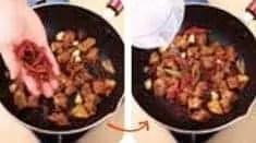 Receta de olla de res con sabor a pasta de frijoles anchos step8