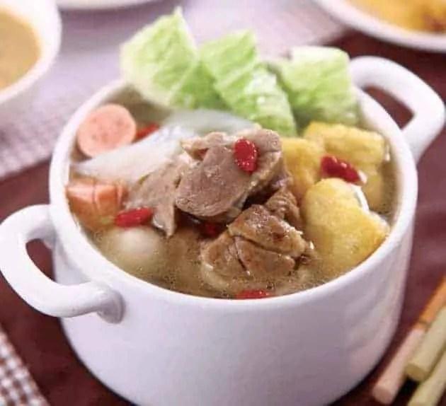 Chinese Stewed Lamb Hot Pot Recipe 1
