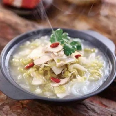 Pickled Cabbage Flavour Pork Soup Hot Pot Base Recipe