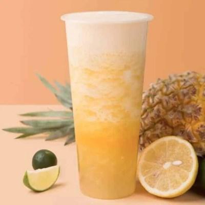 Golden Pineapple Oolong Fruit Tea Recipe