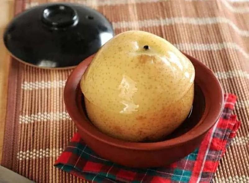 Chinese Frozen Pear DessertRecipes
