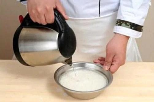 Chinese Glutinous Rice Cake Recipe step1