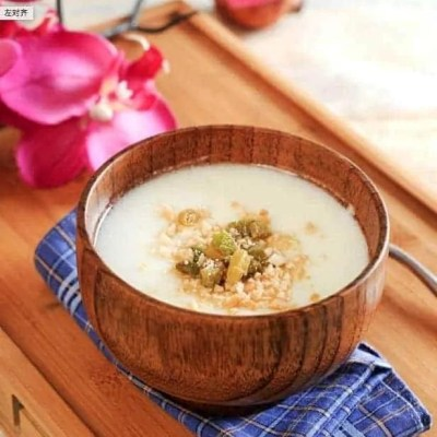 Steamed Milk Custard with Rice Wine Recipe