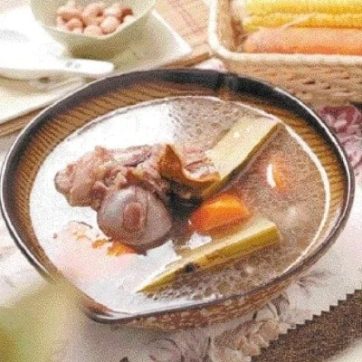 Bamboo Cane and Carrot Pork Rib Soup Recipe