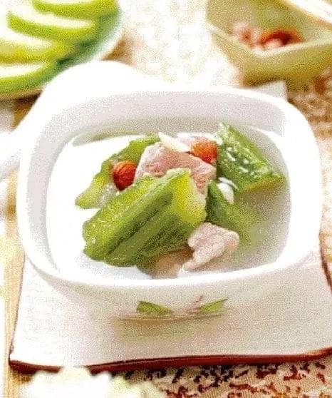 Luffa Pork Ribs Soup Recipe