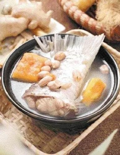 Pawpaw and Peanut FishTail Soup Recipe