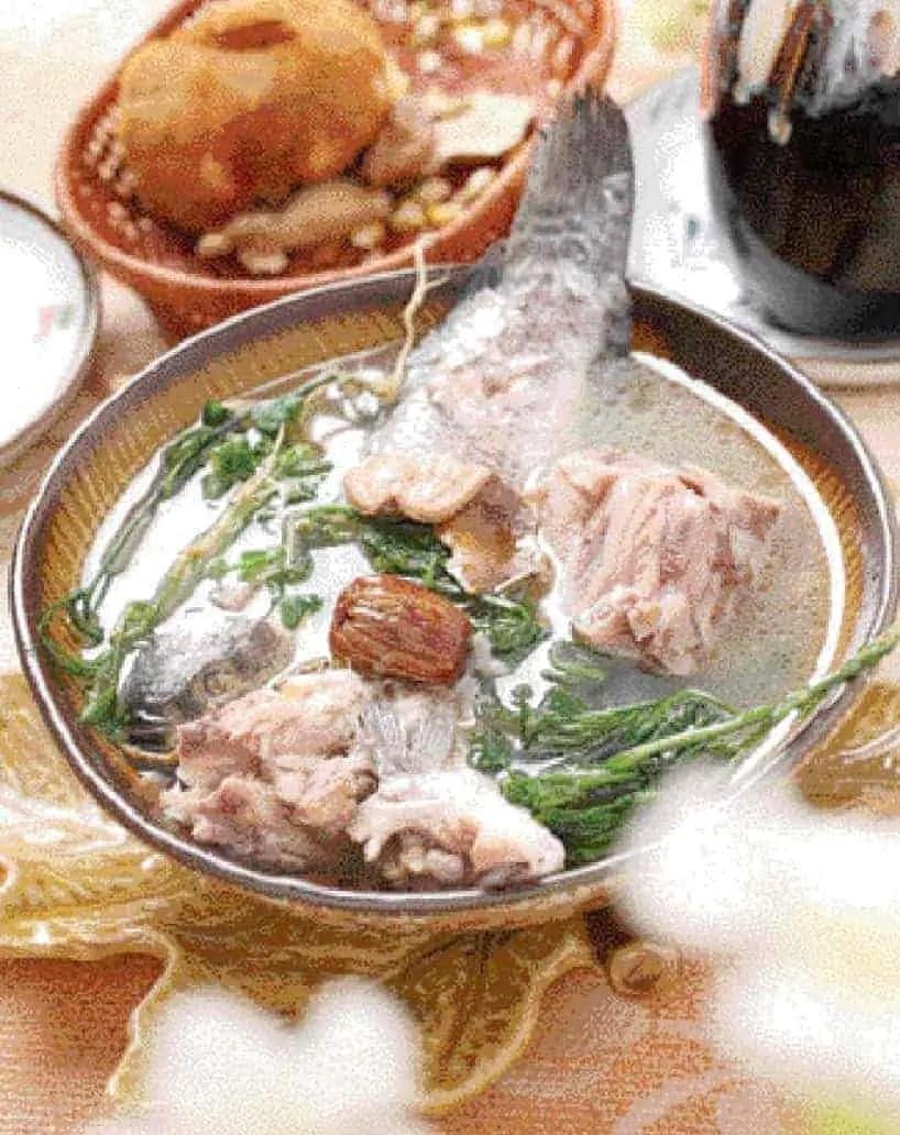 Vegetable Fish Soup Recipe