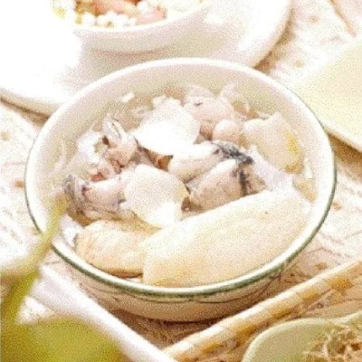 Bamboo Fungus and Lily Bulb Frog Soup Recipe