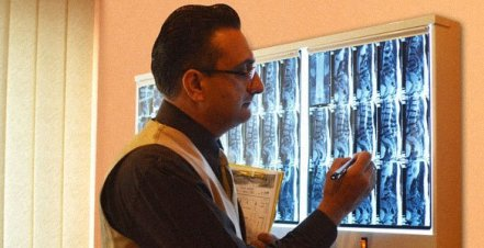 Our Doctors of Chiropractic will evaluate your MRI in our center by Mont Kiara