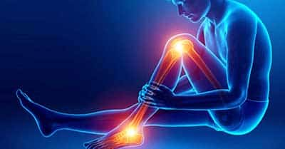 illustration of lower extremity pain
