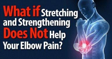 illustration of elbow pain