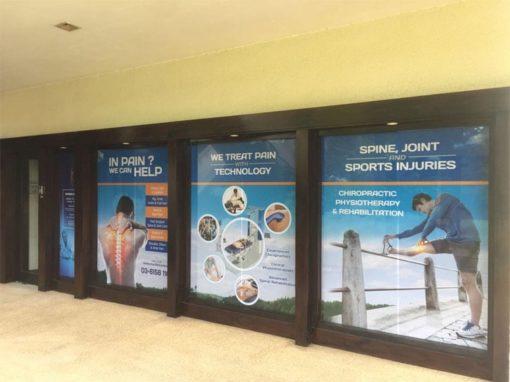 Entrance of chiropractic Specialty Center near Bandar Sri Damansara in Valencia