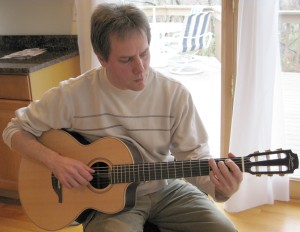"""Local guitarist and music instructor Bob Semanchik recently had his version of """"I'm Gonna Make You Love Me"""" featured on Local on the 8s programming."""