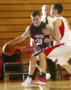 Senior Warren Buerkle, a role player last season, is expected to be the Greyhounds' No. 1 option this year.