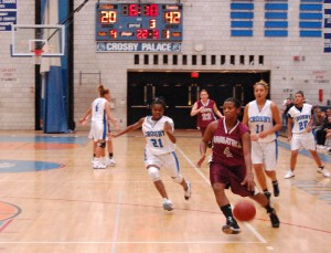 After dropping 26 points on Crosby in Friday's 74-51 win, Naugatuck's Jessica Webber is just six points shy of 1,000 for her career.