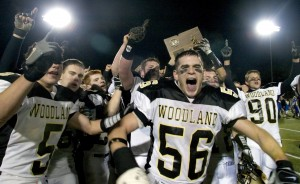 Woodland celebrated the second of back-to-back state titles in 2005. Now, it will be easier for the Hawks and others to make the playoffs, but fewer teams will be crowned champions.