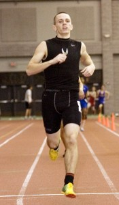 Tyler Murphy and the Hawks' four-by-400 meter relay team have helped to raise the program's profile by qualifying for the New England championships.