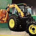 The people of Prospect voted to buy a John Deere mower, pictured here in an advertisement.
