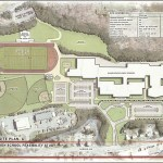 Kaestle Boos Associates prepared this drawing of what Naugatuck High School could look like in 2025. While the outline of the school would remain the same, the interior would be renovated.