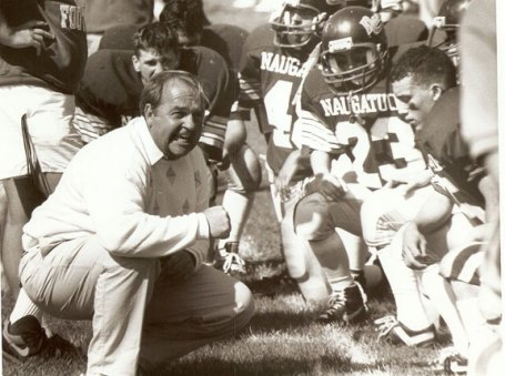 Former Naugatuck head coach Craig Peters has the eighth-most wins in state history, with a 213-75-2 record over 28 seasons.