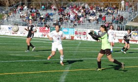 Woodland vs. Naugatuck girls soccer NVL semifinal Saturday - KEN MORSE