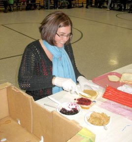 The Algonquin/Community PTO sponsored its first ever Pay it Forward event Dec. 9 at Community School in Prospect. ELIO GUGLIOTTI