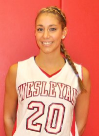 Former Woodland basketball player Sam LaCroce is a senior at Wesleyan University. -WESLEYAN UNIVERSITY ATHLETICS