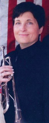 Lisa Pettinicchi, a Naugatuck public schools music teacher and band director, will be among nearly 200 trumpet players and buglers to play Taps during a ceremony honoring the 150th anniversary of Taps, May 19 at Arlington National Cemetery in Arlington, Va. Pettinicchi is a professional trumpet player and the former band master and conductor of the Second Company Governor's Foot Guard Band of Connecticut. -CONTRIBUTED