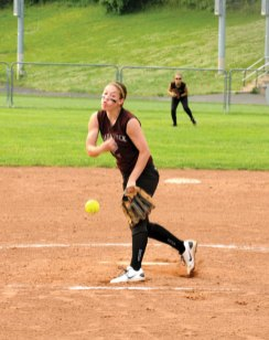 Naugatuck beat New Canaan 2-1 in the bottom of the tenth inning in the first round of the Class LL state tournament on Tuesday at Naugatuck Borough High School.