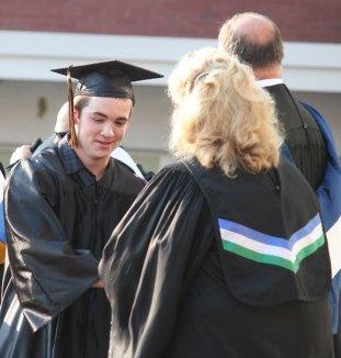 Woodland Regional High School's Class of 2012 graduated June 20.