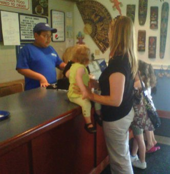 A fundraiser was held June 14 at Ayash-man Restaurant in Naugatuck to raise money for the borough's Fourth of July celebration.