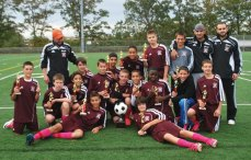 The Naugatuck Youth Soccer U14 boys soccer team came in first place in the West Haven Tournament recently. The team is coached by coached by Eric Taveira, Jaime Pereira, and Alberto Fernandes. -CONTRIBUTED